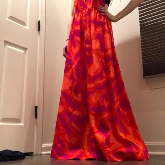 Vintage Dresses & Skirts - Groovy Vintage Hawaiian Maxi Dress
